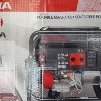 GENSET WM3500E Kapasitas 2.500 WATT Max 3000 watt - WEMA - BENSIN