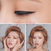 NOVO Eyeliner Pen lasting Makeup Liquid Eye Liner Pencil Natural #008