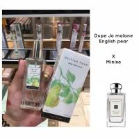 British Pear Lychee Freesia Peony Parfum Miniso Thailand dop Jo Malone