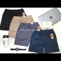 Celana Pendek Hotpants Bahan Katun Stretch size standard & XXL (
