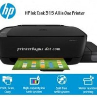 TURUN HARGA HP Ink Tank 315 All in One Printer Diskon