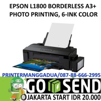EPSON L1800 A3 PHOTO PRINTER 6 COLOR BORDERLESS INFUS O Murah