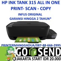 HP315 INK TANK Hp 315 ALL IN ONE PRINT SCANCOPY PRINTER Limited