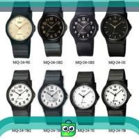 Casio Analog Watch Jam Tangan Unisex - Hitam - Strap Karet - MQ-24