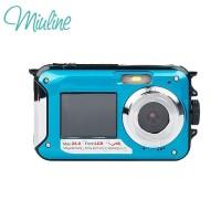 Miuline Kamera Digital 24MP MAX 1080P Anti Air Dua Laya Yukngimport