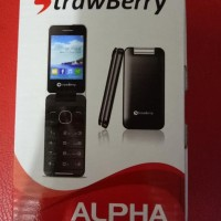 Baru Strawberry ALPHA ST2 - Hp Lipat - Dual SIM