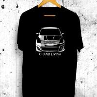 Harga kaos tshirt distro nissan grand livina baju otomotif mobil premium | antitipu.com