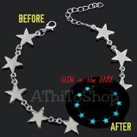 Gelang BINTANG STAR Glow in the Dark, Ready Stock
