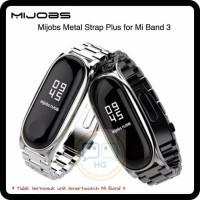 Xiaomi MiJobs Mi Jobs Mi Band 3 Stainless Steel Strap Original