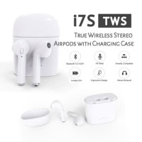 Headset i7S TWS True Wireless Stereo Airpods With Charging Case