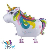 Jual Balon Foil Air Walker / Airwalker Kuda Pegasus Unicorn Murah