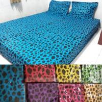 Seprei batik motif leopard