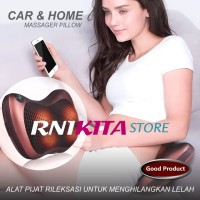 BANTAL PIJAT INFRARED CAR AND HOME MASSAGE PILLOW