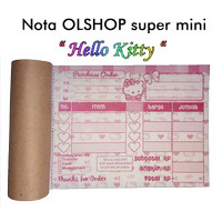 nota olshop super mini
