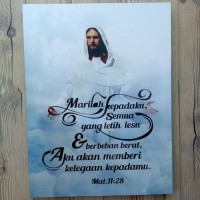 HIASAN DINDING MARILAH KEPADAKU SEMUA YANG LETIH LESU