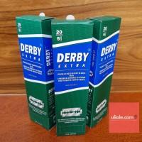 Silet Derby Extra Untuk Cukur Kumis Jenggot, Brewok Dan Pangkas Rambut
