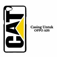 Casing HP OPPO A3S caterpillar logo Custom Hard Case Cover