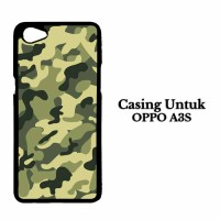 Harga casing hp oppo a3s army custom hard case | Pembandingharga.com