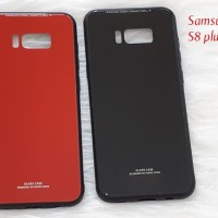 Samsung galaxy S8+ / s8 plus tempered glass phone case