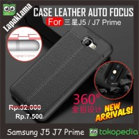 Case Leather Auto Focus Original Samsung Galaxy J7 Prime 16 / On7 2016