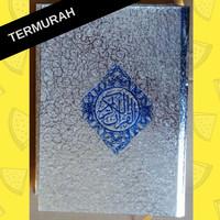 [Termurah] Quran / Alquran cover Silver/ Perak / Emas /Gold size A5
