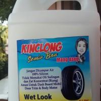 semir ban kental kinclong&wetlook 90% silikon oil kemasan 5 liter