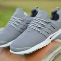 Harga free sale sepatu murah pria sport nike presto gray sol   antitipu.com