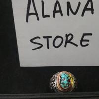 Batu pirus batu pyrus persia cincin perak special custom