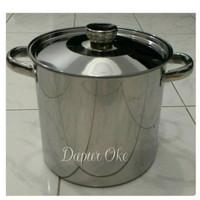 Harga panci tong air bima 30 stainless masak rebus tempat | Pembandingharga.com