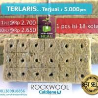 Rockwool Hidroponik Siap Pakai merk Cultilene