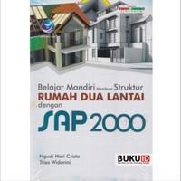Buku Belajar Mandiri Membuat Struktur Rumah Dua Lantai Dengan SAP 2000
