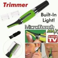 Harga promo microtouch max alat cukur kumis rambut jambang ketiak  6802431246