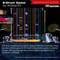 Best Product Drum Elektrik Yamaha Dtx400 / Dtx400K / Dtx 400 / Dtx