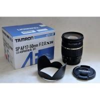 Lensa Tamron SP AF 17-50mm f2.8 XR non VC