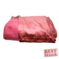 Dixon Selimut Dewasa 150x200 Satin Polos - Merah