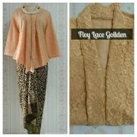 Batik Indonesia !! Setelan Kebaya Modern Floy Lace Gold