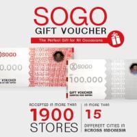 Voucher SOGO MAP Mitra Adi Perkasa, Rp. 100.000