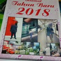 Kalender Dinding Tahun 2018 Custom Foto 12 Lembar