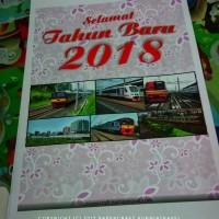Kalender Dinding Tahun 2018 Tema Commuterline
