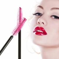 Mascara Wand/Spoolie/Sisir/Kuas/Sikat Eyelash Extension/bulumata