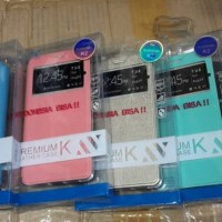 Flipcover UME Andromax R2 / E2 Sarung HP / Leather Case Smartf