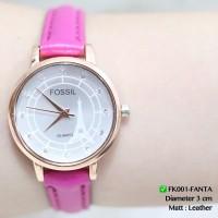 Harga jam tangan wanita fossil tali kulit flash sale termurah import | antitipu.com