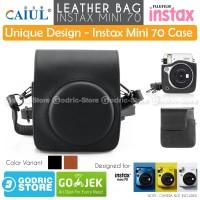 Fujifilm Leather Bag Polaroid Instax Mini 70 Tas Case Pouch Kamera