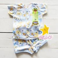 Baju Bayi Setelan Kaos Celana Pendek Bayi Ridges - 0-3 Bulan