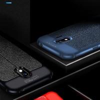 Samsung galaxy j2 pro Leather Anti crack auto focus case