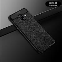 Samsung galaxy J4 2018 Leather Anti crack auto focus case