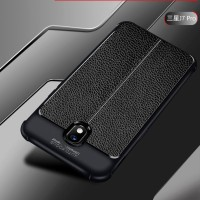 Samsung galaxy j5 pro Leather Anti crack auto focus case