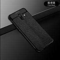 Samsung galaxy a6 2018 Leather Anti crack auto focus case