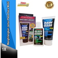 GLASS SCIENCE SPECIAL PACKAGE - CLEAN AND PROTECT BY UNELCO