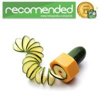 Funny Kitchen Cucumber Slicer / Pemotong Mentimun - Multi Warna